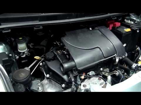Toyota Vitz с двигателем 1KR FE Техничеcкое обслуживание