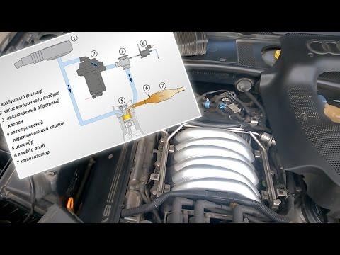 Система подачи вторичного воздуха - принцип работы, устройство, неисправности (Audi, Passat, Skoda)