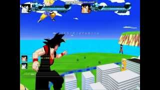 getlinkyoutube.com-Zeq2 evil goku vs goku part 1