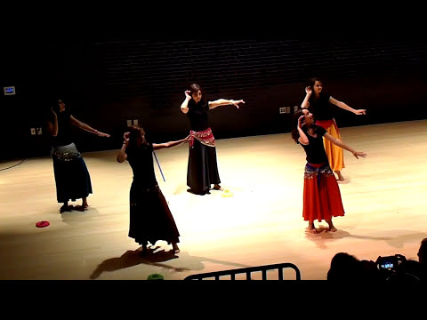 Daowoo Al Layl (lightup the night) - Arab Dance-  Lovett Middle School (November 15, 2009)