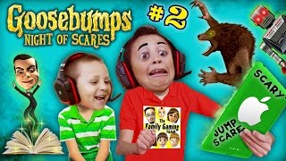 getlinkyoutube.com-WEREWOLF KNOCKED OFF MIKE's HEAD ~🎃#@AHHH!@#%👻! GOOSEBUMPS NIGHT OF JUMP SCARES #2 (w/ FGTEEV Chase)