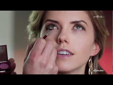 Maquiagem Para Noite de Natal - Sadi Consati