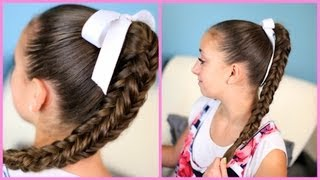 getlinkyoutube.com-Box {Four-Sided} Fishtail Braid | Wear it Down or Up in a Bun!