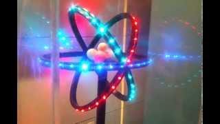 getlinkyoutube.com-3d Atom Model Glowing With LED