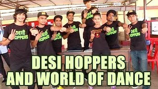 getlinkyoutube.com-Shantanu, Macedon and Nimit along with Desi Hoppers crew talk about World Of Dance competetion