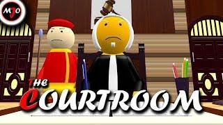 MAKE JOKE OF   THE COURTROOM