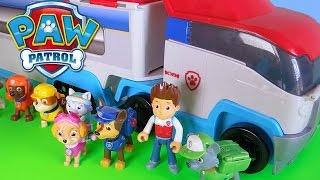 getlinkyoutube.com-Paw Patrol italiano episodi completi apertura camion  personaggi da cartoni animati  cartoonito