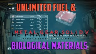 MGSV: Phantom Pain Unlimited Fuel & Bio Materials - MGSV UNLIMITED RESOURCES