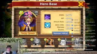 Castle Clash -  Evolve Harpy My 7th Evolve