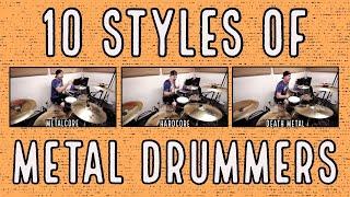 getlinkyoutube.com-10 styles of metal drummers