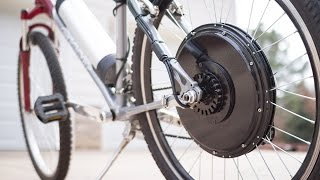 Installing a Magic Pie Electric Bike (e-Bike) Conversion Kit
