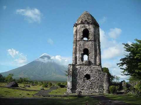 Cagsawa Ruins - Mount Mayon Legaspi