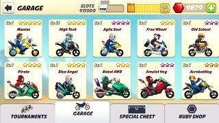 getlinkyoutube.com-[Bike Race] RUBY HACK?! GARAGE HACK?!!