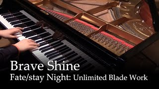 getlinkyoutube.com-Brave Shine - Fate/stay night UBW OP2 [piano]