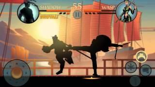 getlinkyoutube.com-shadow fight 2 - Wasp