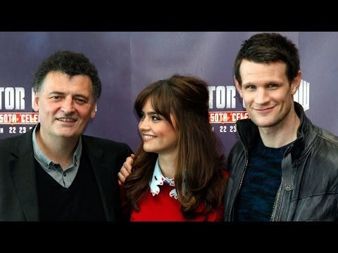 Matt Smith on Doctor Who Return - Interview with Matt, Jenna Coleman, Steven Moffat