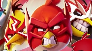 getlinkyoutube.com-Angry Birds 2 - New Update Games for (RED)   SuperHero Birds
