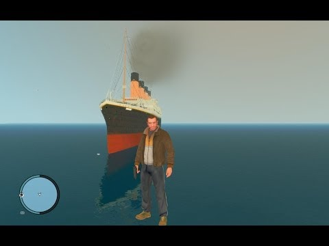 How to install GTA 4 Titanic mod