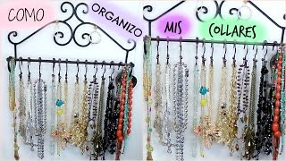 getlinkyoutube.com-DIY  | Organizador de Collares