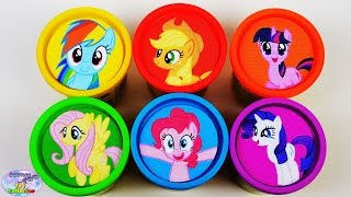 getlinkyoutube.com-My Little Pony Learning Colors Play Doh Mane 6 MLP Shopkins Surprise Egg and Toy Collector SETC