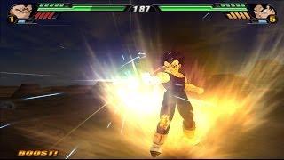 getlinkyoutube.com-Majin Vegeta Base Form VS Goku equipped with a modified Halo potara (Dragonball Z Tenkaichi 3 MOD)