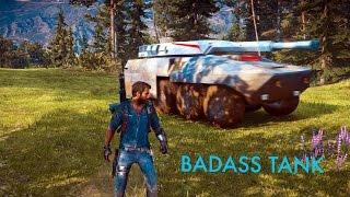 getlinkyoutube.com-Driving The Imperator Bavarium Tank In Just Cause 3