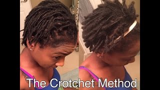 getlinkyoutube.com-HOW TO:  Turn your starter Locs into instant Locs in SECONDS! TUTORIAL