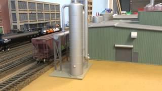 getlinkyoutube.com-Walthers Cornerstone - HO Scale - Processing Center