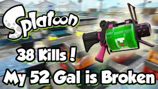 getlinkyoutube.com-Splatoon - 52 Gal is Stupid (38 Kill Tower Control Game!)