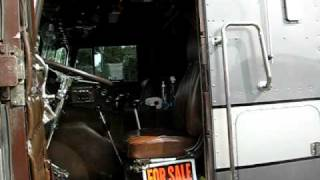 getlinkyoutube.com-1981 Peterbilt cabover part I.