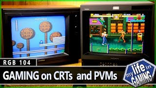 getlinkyoutube.com-RGB104 :: Retro Gaming on CRTs and PVMs - MY LIFE IN GAMING