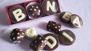 Cara Membuat Kotak Coklat (tutup mika)