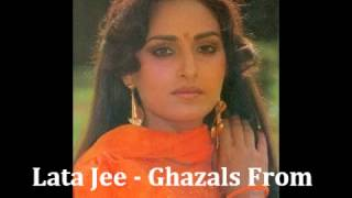 Best Of Lata Mangeshkar   Vol 9 Ghazals From Films   YouTube