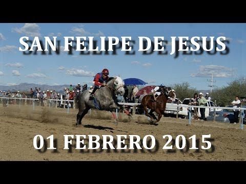 Carreras de Caballos en San Felipe de Jesus 01 Febrero 2015