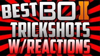 BO2 Trickshot Reactions MUST WATCH! INSANE!