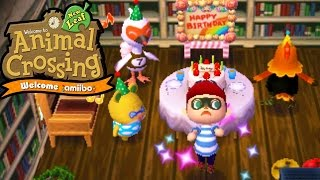 getlinkyoutube.com-Animal Crossing New Leaf - Welcome amiibo  - Birthday Bird - Coco Ohno! - 3DS Gameplay Walkthrough