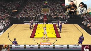 getlinkyoutube.com-NBA 2K 1v1 vs FaZe Rug (FACECAM)