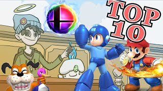 getlinkyoutube.com-Top 10 Super Smash Bros Characters for 3DS