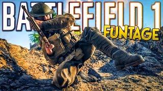 getlinkyoutube.com-BATTLEFIELD 1 FUNTAGE! - Professional Manhandler, Extreme Stunts, Mortar Troll (BF1 Funny Moments)