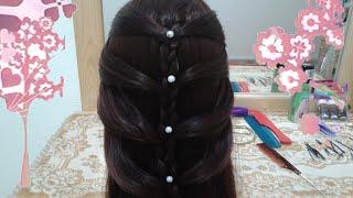 getlinkyoutube.com-8 peinados faciles rapidos y bonitos con trenzas de moda para niña en cabello largo y mediano