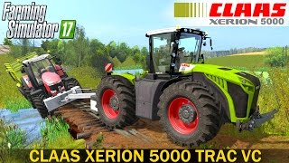 getlinkyoutube.com-Farming Simulator 17 CLAAS XERION 5000 TRAC VC TRACTOR