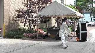 getlinkyoutube.com-32式太極剣 藤原ゆりか デモ演02