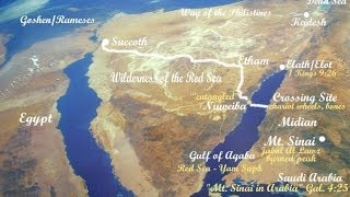 EXODUS REVEALED!!- Hard Evidence in Red Sea of Israel's Escape From Egypt