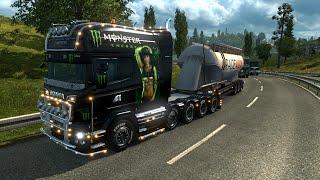 getlinkyoutube.com-Euro Truck Simulator 2. Мод: Scania R. Много тюнинга! (Ссылка в описании)