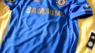 soccer triad review (chelsea champions league shirt 2012/13)