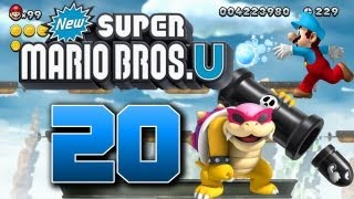getlinkyoutube.com-Let's Play New Super Mario Bros U Part 20: Leckere Zuckerwatte