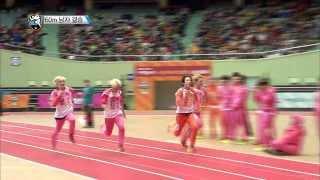 getlinkyoutube.com-[HOT] 아이돌 스타 육상양궁풋살컬링 선수권대회 2부 K-Pop Star Championships - 60m 남자 결승전, BTOB 민혁 금메달! 20140131