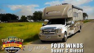 getlinkyoutube.com-RV Reviews: New Four Winds Class C Diesel Motorhomes (Super C Diesel Motorhomes)