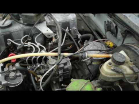 Ремонт MERCEDES W123 TD часть #6/Достаем двс для мерседеса.