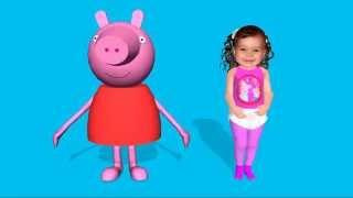 getlinkyoutube.com-Triana and Peppa Pig Dance